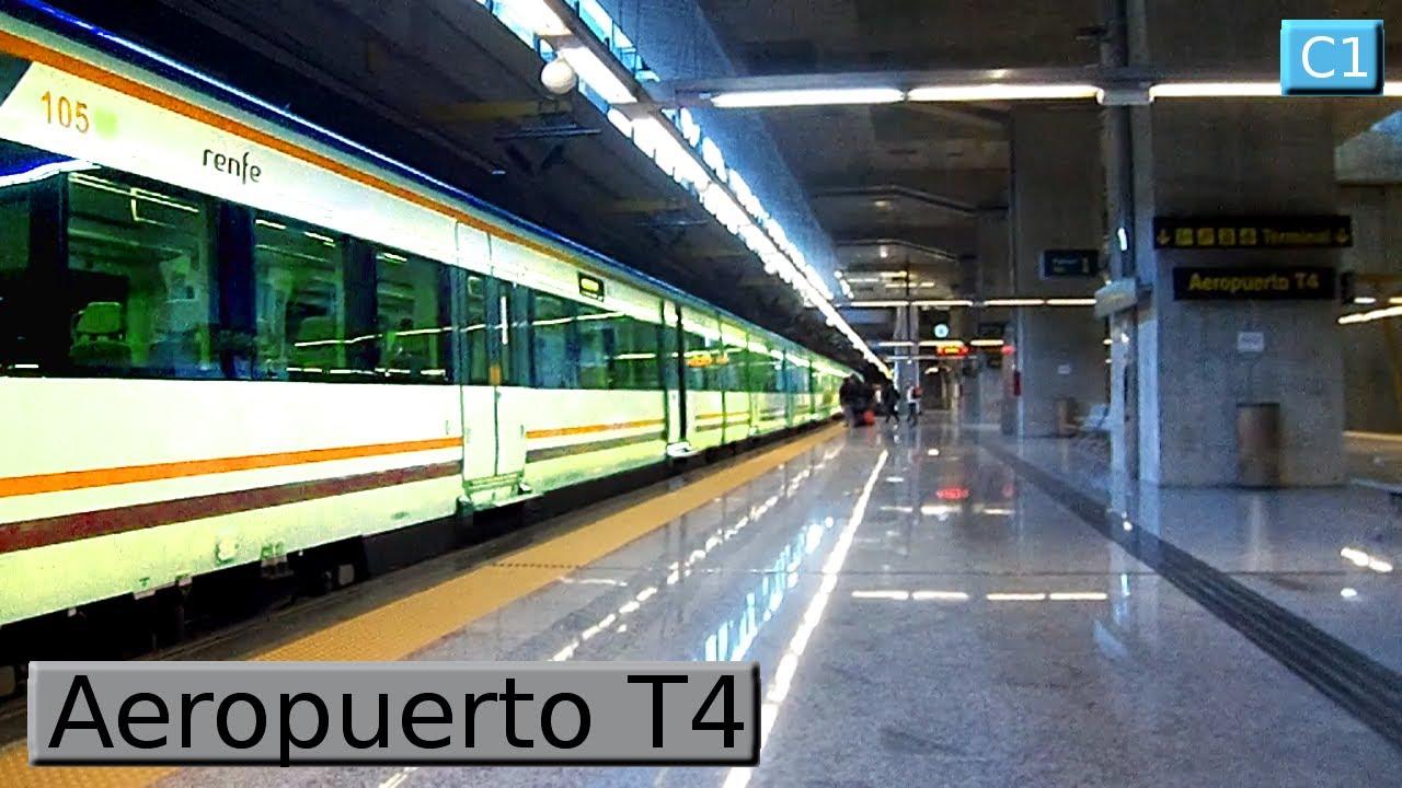 Aeropuerto t4 c1 cercan as madrid renfe civia for Oficinas de renfe en madrid