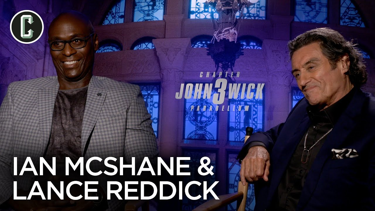 'John Wick 3' Actor Lance Reddick: 'I Never Get to Play Characters Like This'