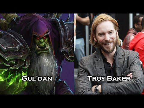 Characters and Voice Actors - Heroes of the Storm Part 2