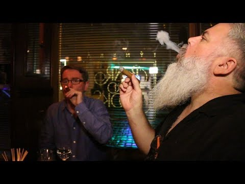 No Smoking? Not Quite! We Light up at Prague's Bar & Books