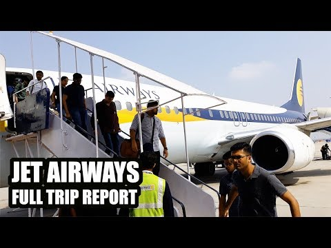 My Journey with JET AIRWAYS Economy Class | New Delhi to Bangalore