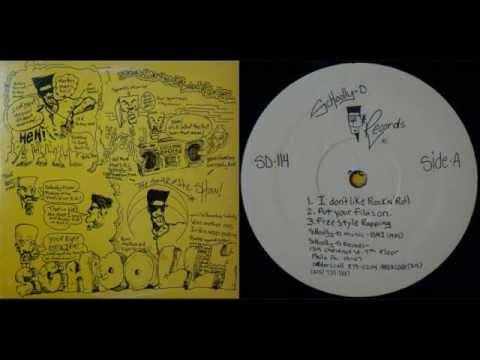 SCHOOLLY D - Schoolly D / SIde A - 1985