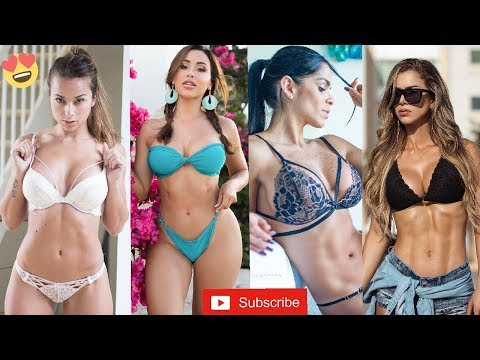 Top 4 Sexiest Fitness Models in the World | Unbelievable Bodies