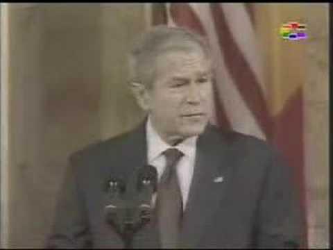 "George W. Bush write history  ""Say Macedonia"""