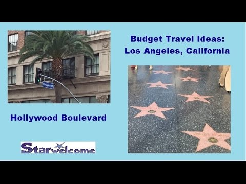 Travel Ideas Tips LA   Hollywood Blvd