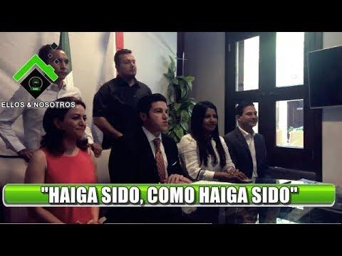 Festeja Samuel García, de MC, que será Senador