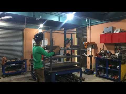 Horizontal Vertical Metal Storage Rack
