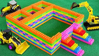 블럭 자동차 장난감 주차장 만들기 Blocks Car Toys for Kids