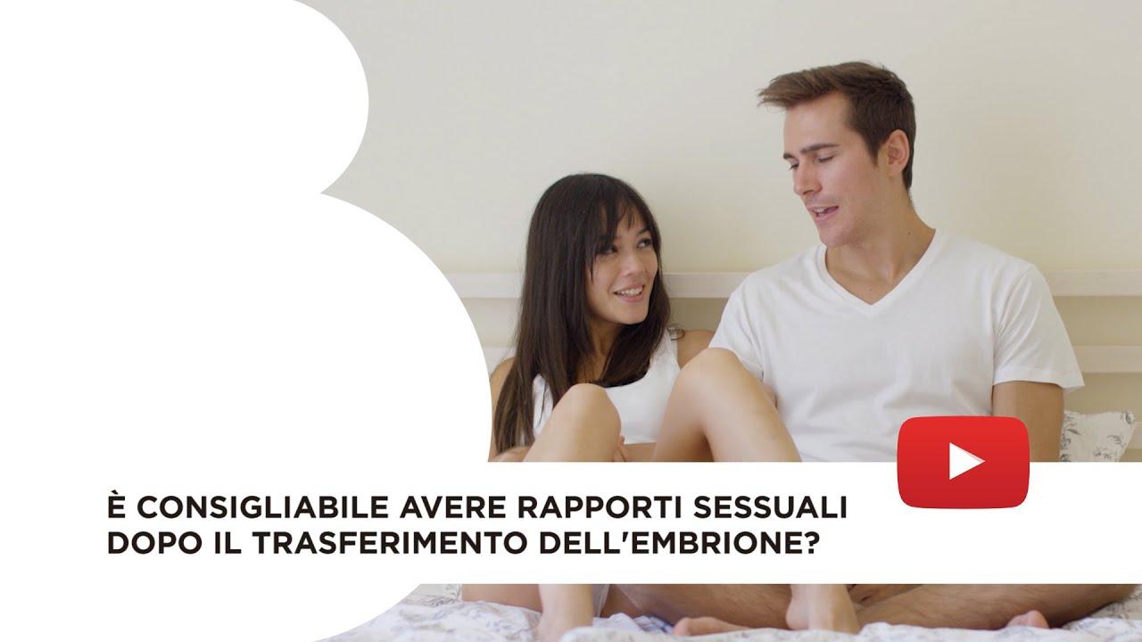 Rapporti sessuali dopo il trasferimento dell'embrione