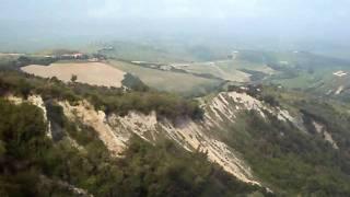 Uitzicht bij Volterra