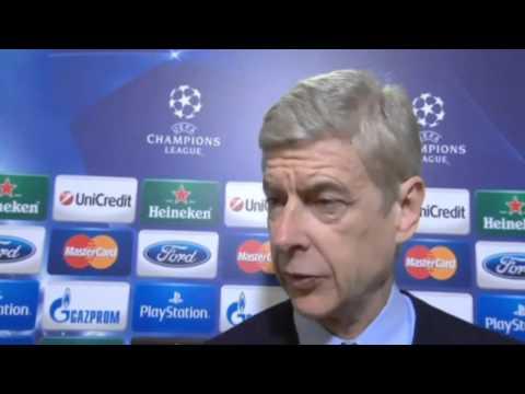 Bayern 1 Arsenal 1 : Arsene Wenger Post Match Reactioon