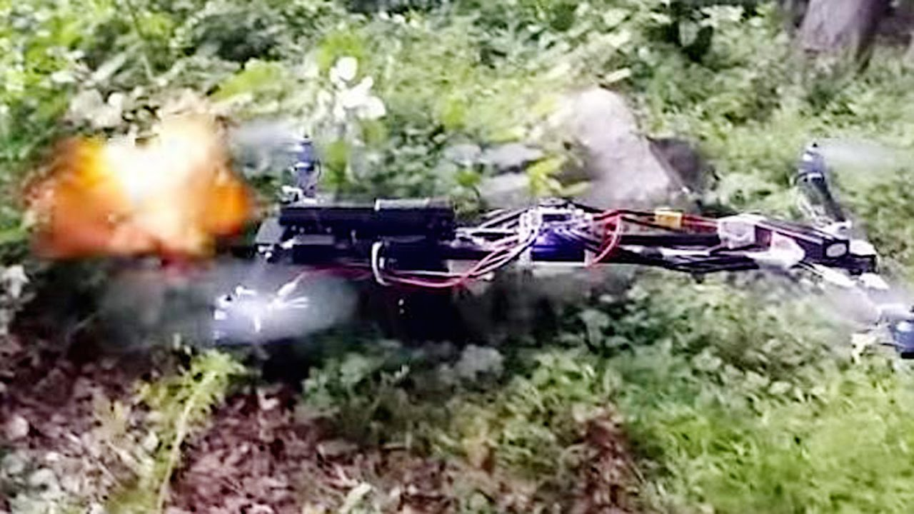 Gun Strapped To A Flying Drone Is Legal [VIDEO]
