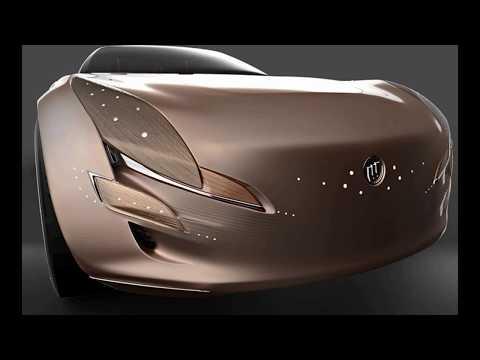Luxury Electric Buick Evocador Concept Car
