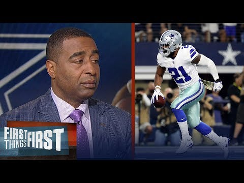Cris Carter explains how Ezekiel Elliott can grow from his 6-game suspension | FIRST THINGS FIRST