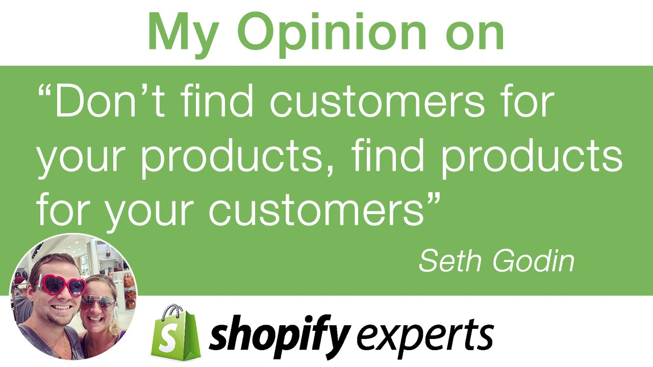 My opinion on quote don 39 t find customers for your for Products that don t exist
