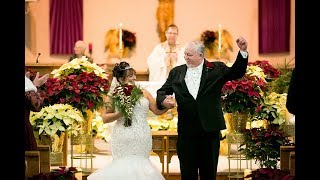 Laube Hall Wedding Highlight | Denise and Joseph