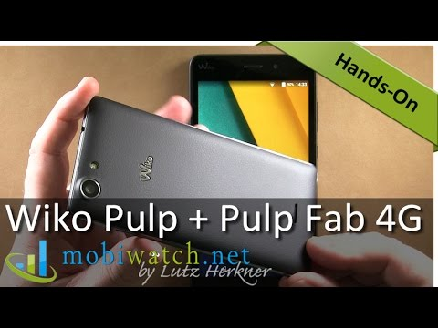 """Wiko Pulp + Pulp Fab 4G: Cheap 5"""" and 5.5"""" Dual-SIM Phones – Hands-on Video"""
