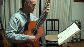 クラシックギター学習者の為の名曲集No1