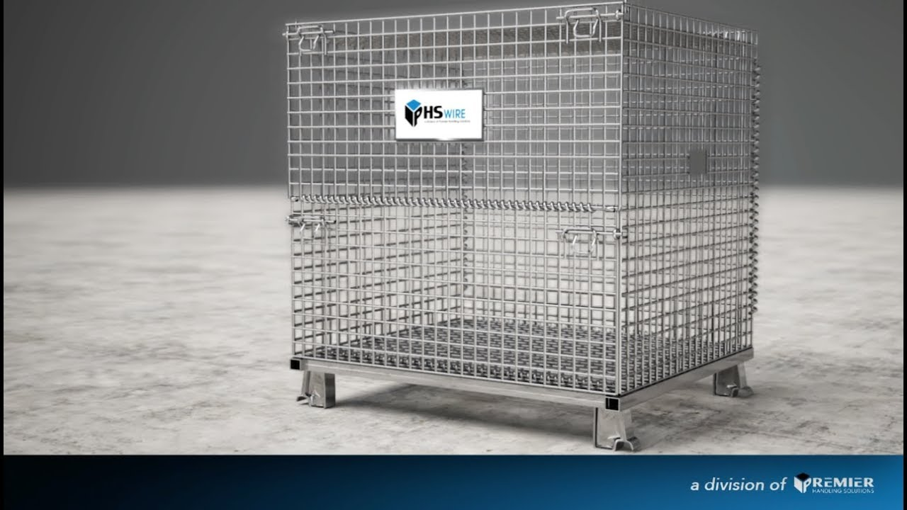 video MEDIUM WIRE CONTAINER