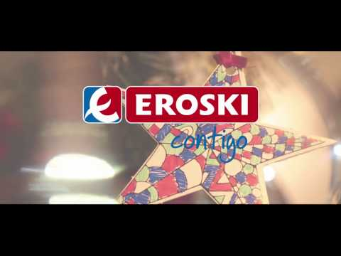 Atrapa tu Estrella Solidaria EROSKI. Pura magia navideña
