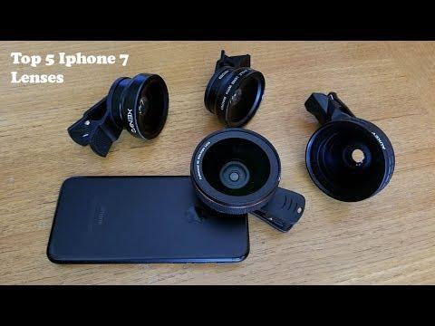 Top 5 Best Camera Lenses For Iphone 7 Iphone 7 Plus Fliptroniks Com Youtube