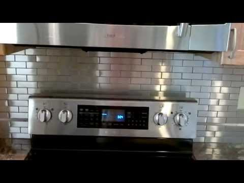 Stainless Steel Tile Back Splash