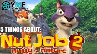 "5 Things About ""Nut Job 2: Nutty By Nature"" - Movie Review"