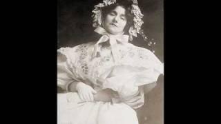 Yvette GUILBERT (Diseuse) ~ Le fiacre (Leon Xanrof) ~ 1907