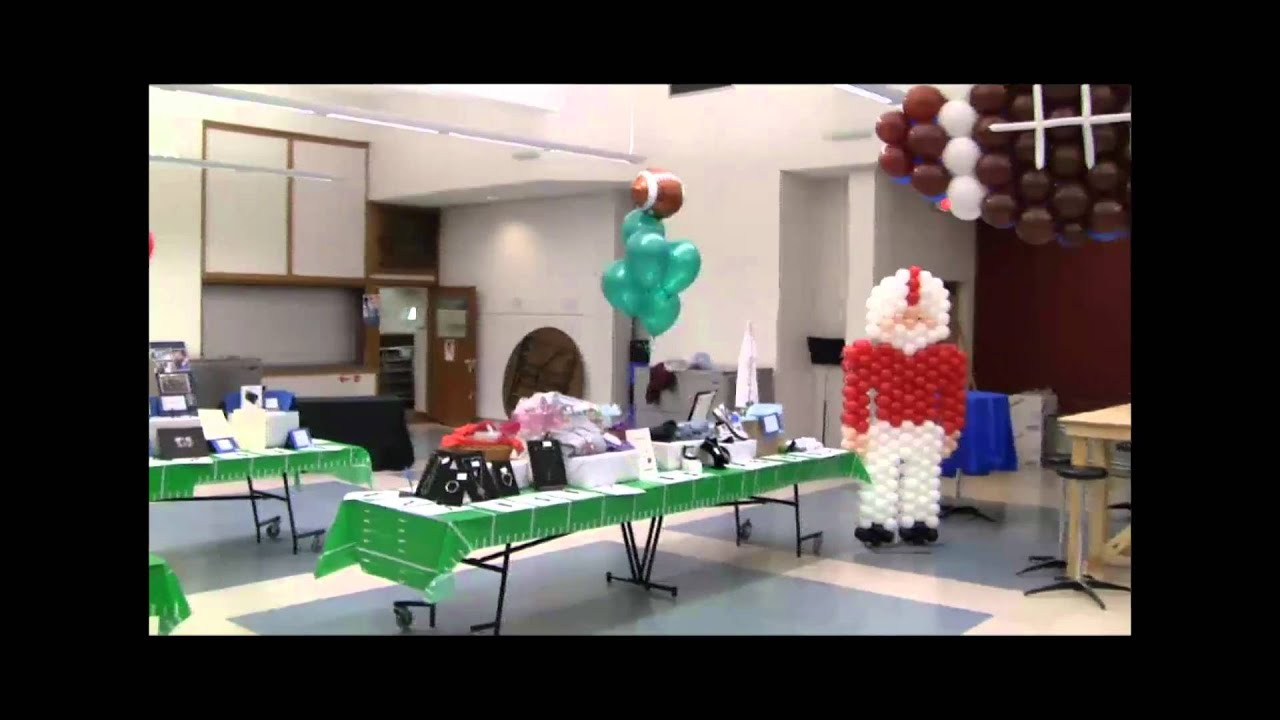 Balloon Sports Theme Decorations Birthday Parties