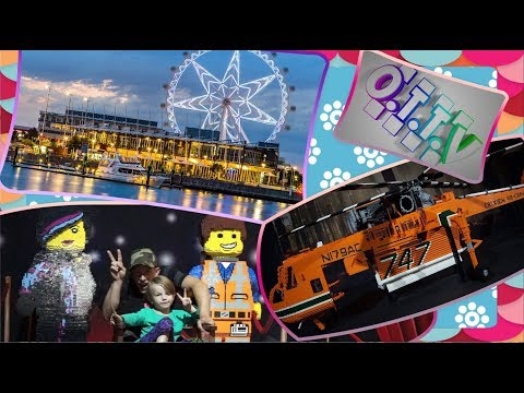 The Lego Brickman Expo and The Melbourne Star