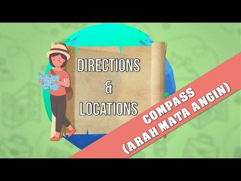 BELAJAR BAHASA ARAB TENTANG ARAH DAN MATA ANGIN from YouTube · Duration:  3 minutes 11 seconds