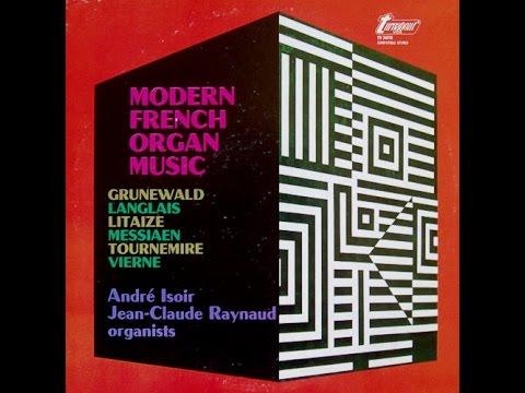 Modern French Organ Music, kant 1 (Vinyl)