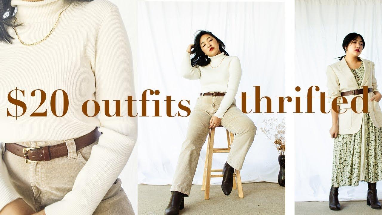 [VIDEO] – 3 THRIFTED OUTFITS FOR ONLY $20!