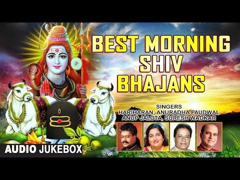 Best Morning Shiv Bhajans By HARIHARAN, ANURADHA PAUDWAL, SURESH WADKAR, ANUP JALOTA I Audio Juke Bo