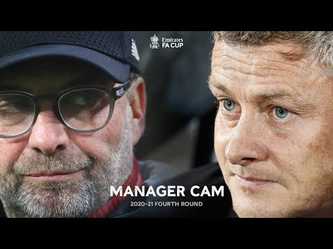 Ole v Klopp   Battle of Old Trafford   Manager Cam   Manchester Utd 3-2 Liverpool   Fourth Round