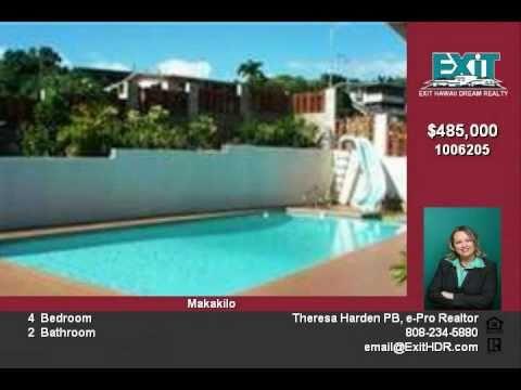 SOLD Oahu Real Estate For Sale, Pool & Ocean Views, Makakilo Hawaii