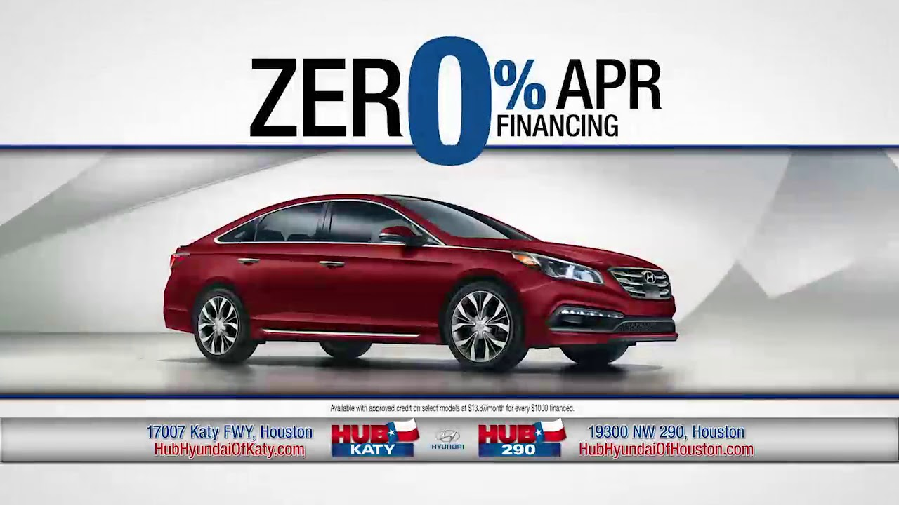 Great deals at Hub Hyundai of Katy - YouTube