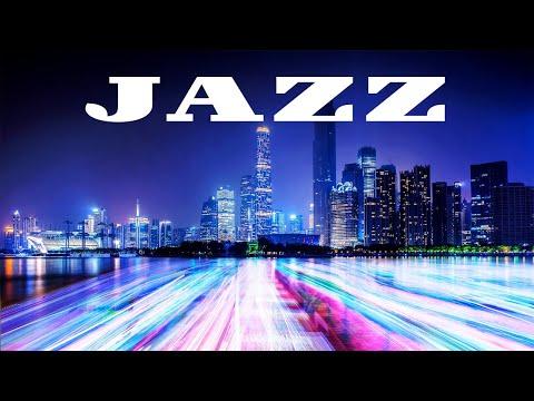 Smooth Night JAZZ - Relaxing JAZZ & Night City - Night Traffic JAZZ