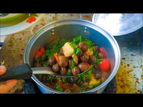 Amazing food of Puff Ball Mushrooms curry ( Thai food recipes ) – Asian food