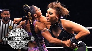 Rhea Ripley lowers the boom on Bianca Belair: NXT TakeOver: Portland (WWE Network Exclusive)