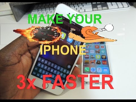 Hack Your iPhone Make It 3x Faster, NO JAILBREAK