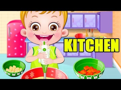 Baby Hazel in Kitchen Game Movie   Fun Cooking Games ...
