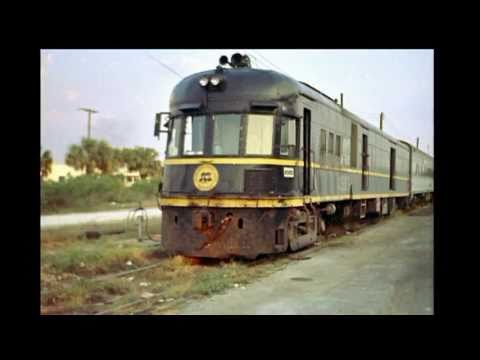 Railroad Time Capsule, Florida Seaboard Coast Line slide show 1969