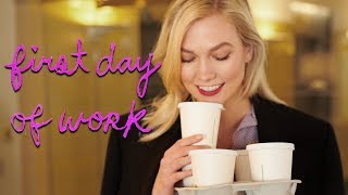 First Day at My New Job | Karlie Kloss