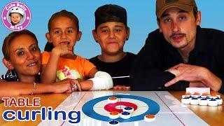 Table Curling  - cooles Spiel für die ganze Familie | Mileys Welt thumbnail