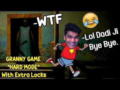 *HARD MODE* Me Dadi Ji Ke Ghar Se Bhag Gaya - | GRANNY HORROR GAME | (Hard Mode With Extra Locks)