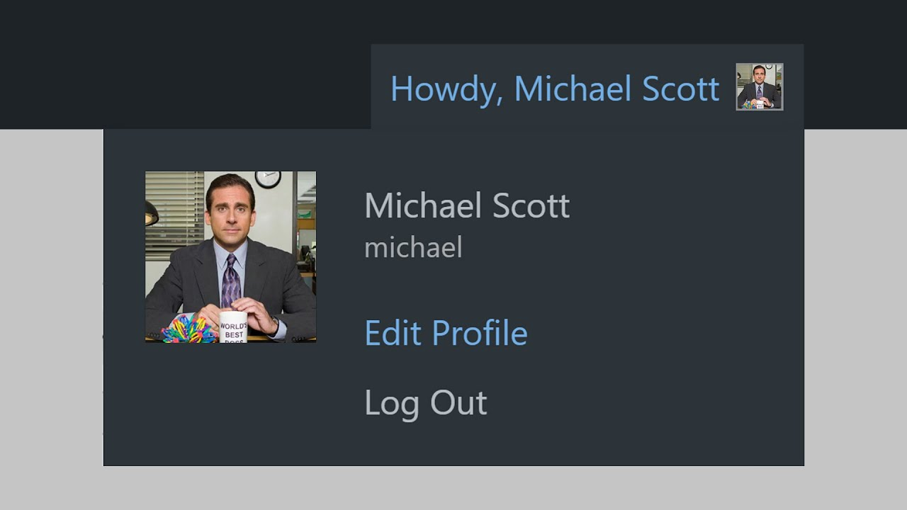 How to Find and Edit the WordPress User Profile