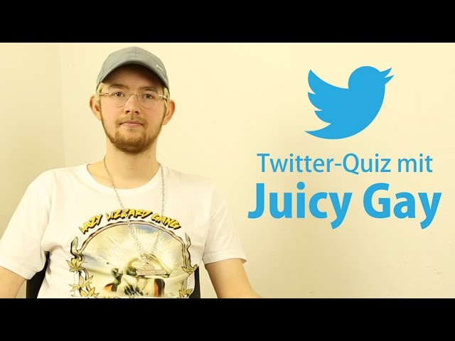 Twitter-Quiz mit Juicy Gay | rap.de