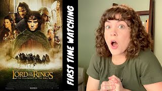 FIRST TIME WATCHING Lord of the Rings: The Fellowship of the Ring (part one!)