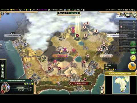 Let's Play Civilization 5 Brave New World: The Scramble For